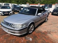2002 SAAB 9-3 2.0 SE TURBO ECO 2d 154 BHP £595.00