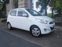 USED 2013 63 HYUNDAI I10 1.2 ACTIVE 5d AUTO 85 BHP ****FINANCE ARRANGED****PART EXCHANGE WELCOME***1OWNER*FULL SH*REAR PS*AC*USB*AUX*2KEYS