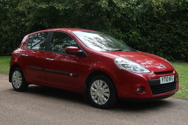 USED 2010 10 RENAULT CLIO 1.1 EXPRESSION 16V 5d 74 BHP