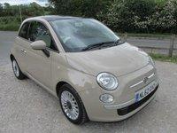 2012 FIAT 500 1.2 LOUNGE 3 £4295.00