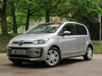 USED 2017 17 VOLKSWAGEN UP 1.0 HIGH UP 5d 74 BHP