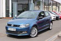2015 VOLKSWAGEN POLO 1.4 TSI BlueMotion Tech ACT BlueGT (s/s) 3dr £10245.00