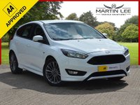 USED 2017 17 FORD FOCUS 1.5 ST-LINE TDCI 5d 118 BHP STUNNING LOOKING HATCHBACK 1 OWNER WITH FSH