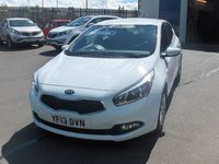 USED 2013 13 KIA CEED 1.6 CRDI 1 ECODYNAMICS 5d 126 BHP BALANCE OF MANUFACTURERS SEVEN YEAR WARRANTY