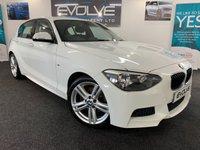 2015 BMW 1 SERIES 2.0 125D M SPORT 5d 215 BHP £13699.00