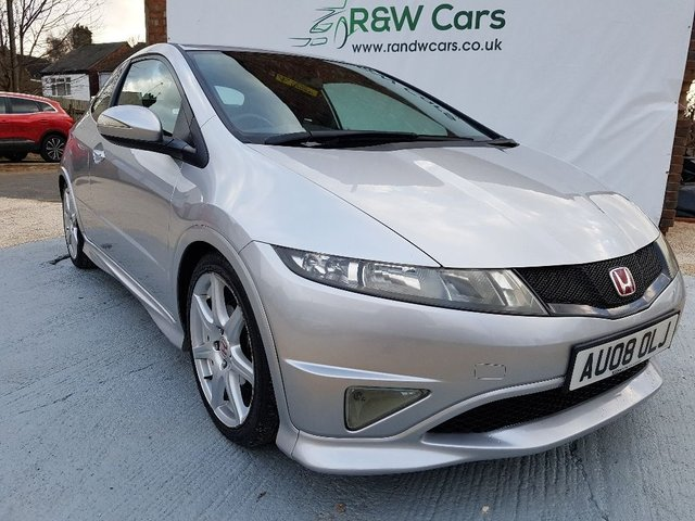 2008 08 HONDA CIVIC 2.0 I-VTEC TYPE-R GT 2008