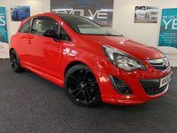 USED 2014 14 VAUXHALL CORSA 1.2 LIMITED EDITION 3d 83 BHP F/S/H, IMMACULATE, LOW MILES!!