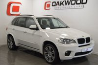USED 2011 61 BMW X5 3.0 XDRIVE30D M SPORT 7 SEATS AUTO 241 BHP PRO NAV + 7 SEATS + FULL HISTORY + SURROUND CAMERAS + BEST COLOUR