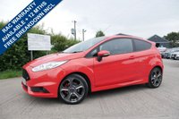 USED 2016 16 FORD FIESTA 1.6 ST-2 3d 180 BHP Ford ST Style Pack fitted, Full Ford main dealer service history, 2 remote locking keys, Front heated seats.