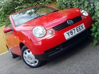USED 2001 Y VOLKSWAGEN LUPO 1.4 S 3d 74 BHP
