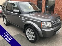 "USED 2011 11 LAND ROVER DISCOVERY 3.0 4 SDV6 GS 5DOOR 245 BHP Family 7-Seater : AUX Socket : Bluetooth Connectivity : Climate Control / Air Conditioning  Full Beige Leather Upholstery       :       Rear Privacy Glass       :       Rear Parking Sensors  19"" Alloy Wheels   :   Service History"