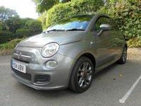 2014 FIAT 500 1.2 S 3d 69 BHP £POA
