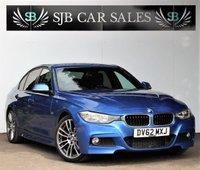 USED 2012 62 BMW 3 SERIES 2.0 320D M SPORT 4d AUTO 181 BHP Full Service History & New Mot