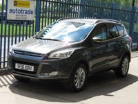 USED 2016 16 FORD KUGA 1.5 TITANIUM 5d Leather DAB Cruise Park sensors Finance arranged Part exchange available Open 7 days