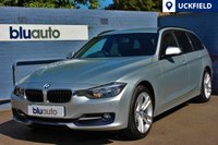 """USED 2014 64 BMW 320d 2.0 XDRIVE SPORT TOURING 5d AUTO 181 BHP A stunning example with a Full Service History and £5,500 optional extras; Satellite Navigation, Sports Automatic Transmission, Leather, Heated Seats, Business Media Package & 18"""" Double Spoke Alloy Wheels..."""