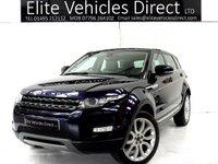 2011 LAND ROVER RANGE ROVER EVOQUE 2.2 SD4 PRESTIGE 5d AUTO 190 BHP £12991.00