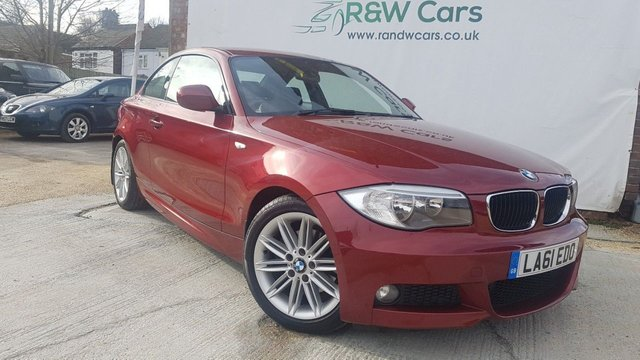 2011 61 BMW 1 SERIES 2.0 120D STEP AUTO START-STOP 120 M SPORT 2011