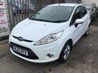 2012 FORD FIESTA 1.4 ZETEC 16V 5d AUTO 96 BHP £6395.00
