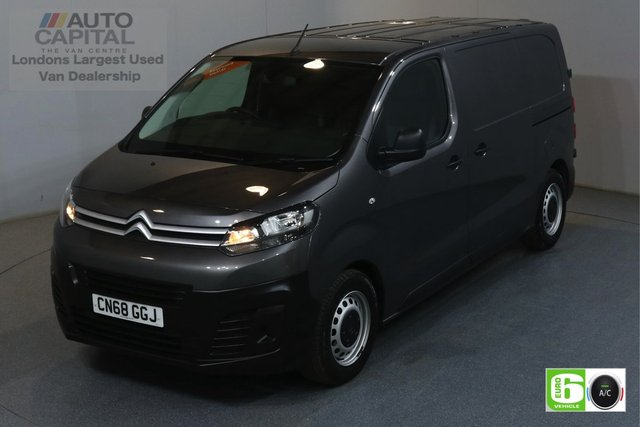 2018 68 CITROEN DISPATCH 1.6 M 1000 ENTERPRISE BLUEHDI 94 BHP AIR CON EURO 6 MANUFACTURER WARRANTY UNTIL 31/08/2021
