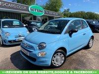 2016 FIAT 500 1.2 POP 3d 69 BHP £5989.00