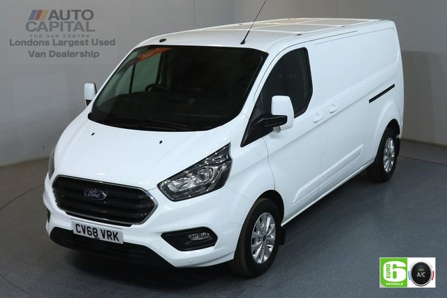 2018 68 FORD TRANSIT CUSTOM 2.0 300 LIMITED L2 H1 LWB AUTO 129 BHP FWD AIR CON EURO 6 MANUFACTURER WARRANTY UNTIL 16/10/2021