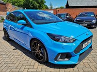 USED 2016 66 FORD FOCUS 2.3 RS 5d 346 BHP FSH,SAT NAV+CRUISE+RECARO SEATS, EURO 6