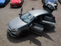 USED 2017 17 MERCEDES-BENZ A CLASS 2.0 A45 AMG 4MATIC 5d AUTO 360 BHP NIGHT EDITION, REAR SPOILER AND DIFFUSER, SAT NAV, REAR CAMER, SEVEN SPEED AUTO BOX WITH PADDLESHIFT, HIGH PERFORMANCE MERCEDES A45