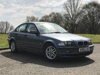 USED 2001 BMW 3 SERIES 1.9 318I SE 4d AUTO 117 BHP great driver