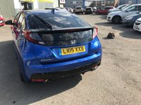 USED 2015 15 HONDA CIVIC 1.3 I-VTEC SE PLUS 5d 98 BHP IN METALLIC BLUE WITH A FULL SERVICE HISTORY AND ONLY 7500 MILES! APPROVED CARS AND FINANCE ARE PLEASED TO OFFER THIS HONDA CIVIC 1.3 I-VTEC SE PLUS 5 DOOR 98 BHP IN METALLIC BLUE WITH A FULL SERVICE HISTORY AND ON 7500 MILES! THIS VEHICLE HAS GOT A GREAT SPEC SUCH AS FUNCTIONING STEERING WHEEL, TOUCHSCREEN DISPLAY, AIR CON, BLUETOOTH, ELECTRIC WINDOWS, ELECTRIC MIRRORS AND MUCH MORE. THIS IS A PERFECT FIRST TIME DRIVER VEHICLE DUE TO THE LOW INSURANCE GROUP AS WELL AS A LOW TAX BAND AND IS EXTREMELY ECONOMICAL DUE TO THE 1.3 LITRE ENGINE.