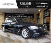 USED 2017 17 BMW 5 SERIES 2.0 520D XDRIVE SE 4d AUTO 188 BHP Dakota leather - Ivory White with a Black colour world