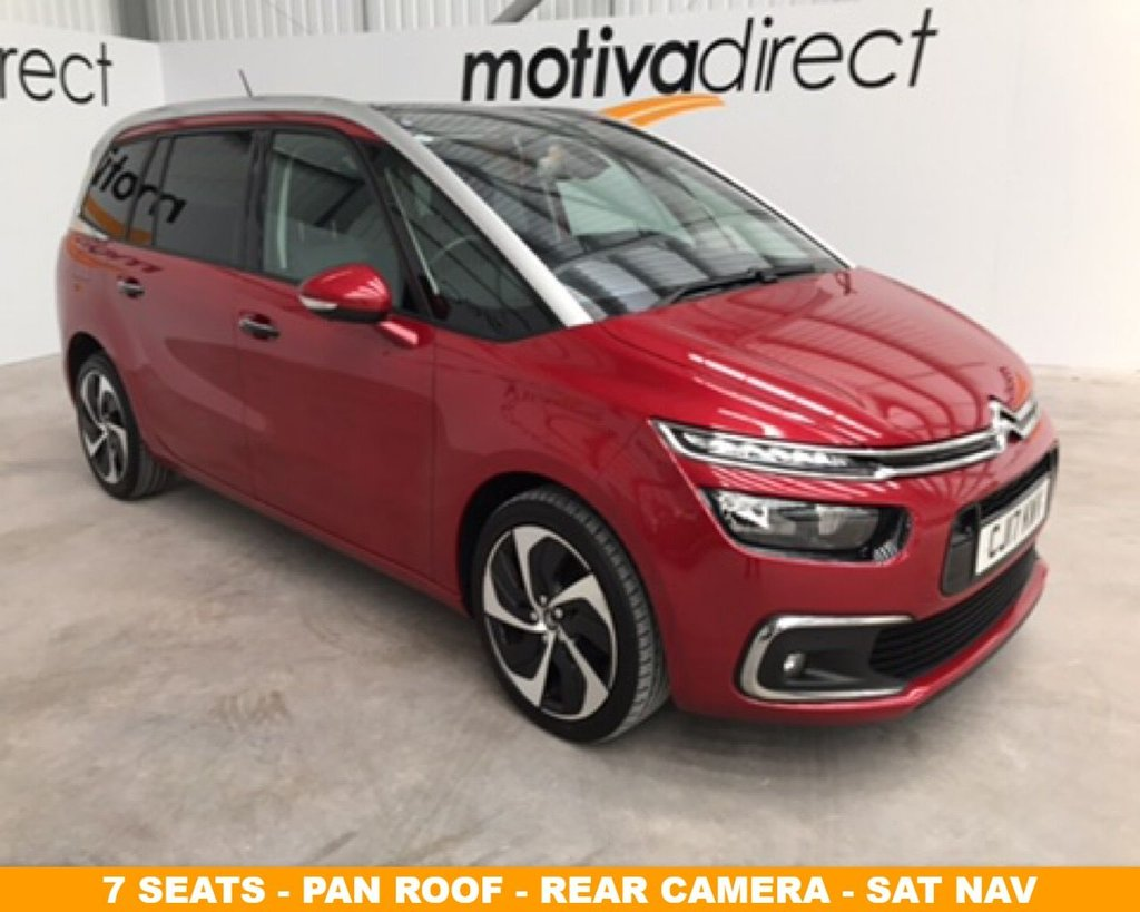 2017 Citroen C4 Grand Picasso Bluehdi Flair S/S £13,995