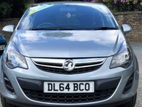 USED 2015 64 VAUXHALL CORSA 1.2 S AC 3d 83 BHP AIR CONDITIONING, ELECTRIC WINDOWS, METALLIC PAINT, AUX, CD PLAYER, REMOTE CENTRAL LOCKING, REAR ISOFIX