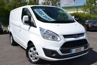 USED 2018 18 FORD TRANSIT CUSTOM 2.0 290 LIMITED LR P/V 5d 129 BHP BALANCE OF FORD WARRANTY ~ 2 KEYS ~ HFS ~ AIRCON ~ BLUETOOTH MUSIC STREAMING