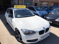 USED 2013 13 BMW 1 SERIES 1.6L 114I SPORT 5d 101 BHP