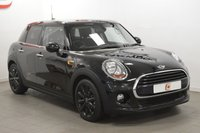 USED 2016 66 MINI HATCH COOPER 1.5 COOPER D 3d AUTO 114 BHP ONLY 10,000 MILES + BLACK WITH BLACK WHEELS AND PRIVACY GLASS