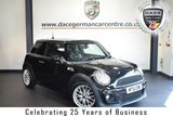 """USED 2012 61 MINI HATCH COOPER 1.6 COOPER S 3DR 184 BHP *NO ADMIN FEES* FINISHED IN STUNNING MIDNIGHT METALLIC BLACK WITH HALF LEATHER INTERIOR + BLUETOOTH + XENON LIGHTS + HEATED SPORT SEATS + AERO-DYNAMIC KIT + DAB RADIO + JOHN COOPER WORKS PACKAGE + LIGHT PACKAGE + AUTO AIR CON + 17"""" ALLOY WHEELS"""