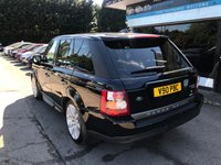 USED 2007 V LAND ROVER RANGE ROVER SPORT 3.6 TDV8 SPORT HSE 5d AUTO 269 BHP FINANCE AVAILABLE, FSH, MOT, TD V8