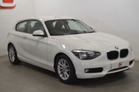 USED 2014 14 BMW 1 SERIES 1.6 116D EFFICIENTDYNAMICS 3d 114 BHP LOW MILES + SERVICE HISTORY + BEST COLOUR + FINANCE