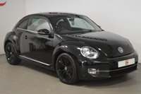 USED 2013 13 VOLKSWAGEN BEETLE 2.0 SPORT TDI 3d 139 BHP STUNNING IN 'ALL BLACK' WITH LOW MILES AND HISTORY