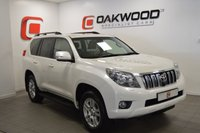 USED 2013 13 TOYOTA LAND CRUISER 3.0 LC5 D-4D 5d AUTO 188 BHP ONLY 34,000 MILES + FULL TOYOTA SERVICE HISTORY + FLAGSHIP MODEL
