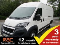 USED 2017 67 PEUGEOT BOXER 435 L4 H2 Professional (LED DRL's) LED Nav Bluetooth AC. L4 with 3 yr Warranty.