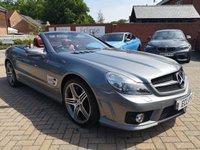 USED 2010 60 MERCEDES-BENZ SL 63 6.2 SL63 AMG 2d AUTO 525 BHP FSH+LEATHER+ALLOYS+CRUISE+B/T