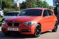 2012 BMW 1 SERIES 2.0 120D SPORT 5d 181 BHP £7995.00