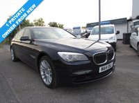 USED 2014 14 BMW 7 SERIES 4.4 750Li M Sport 4dr Auto Full BMW History - 2 Keys - 1 Owner from new