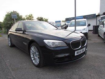 2014 BMW 7 SERIES 4.4 750Li M Sport 4dr Auto £23995.00