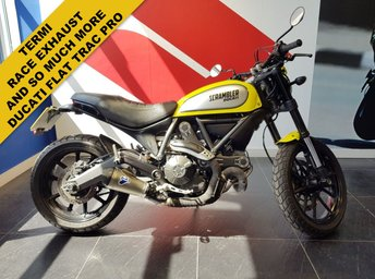 View our DUCATI SCRAMBLER