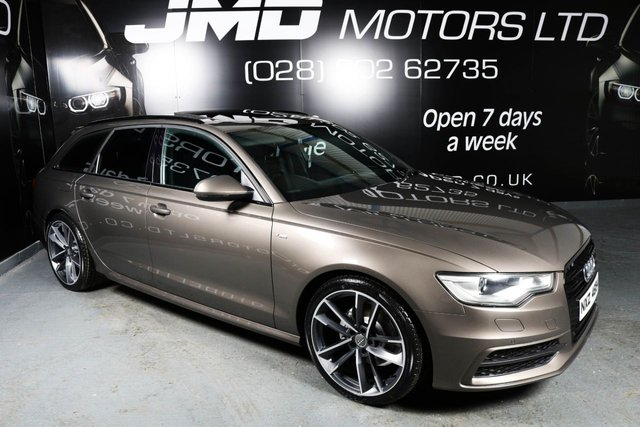 2012 P AUDI A6 3.0 TDI S LINE BLACK EDITION STYLE AVANT AUTO 204 BHP (FINANCE AND WARRANTY)