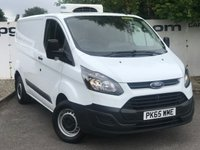 USED 2015 65 FORD TRANSIT CUSTOM 270 2.2 100 BHP L1 H1 FRIDGE/CHILLER**OVER 85 VANS IN STOCK**