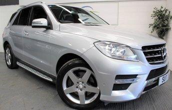 2012 MERCEDES-BENZ M CLASS 2.1 ML250 BLUETEC SPORT 5d AUTO 204 BHP £SOLD