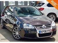 USED 2008 08 VOLKSWAGEN GOLF 3.2 R32 3d 250 BHP
